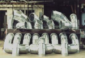 Galvanised ducting