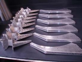 Aluminium component